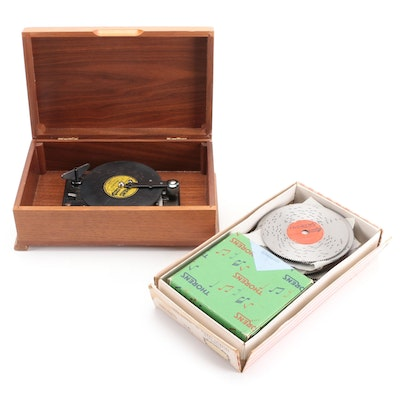 Thorens Automatic Music Box with Discs