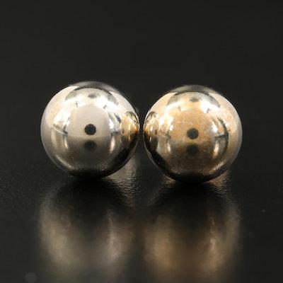 """Tiffany & Co. """"HardWear"""" Sterling Stud Earrings"""