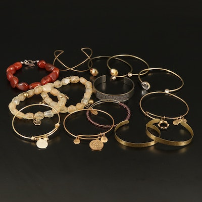 Sterling Bracelets Featuring Alex and Ani