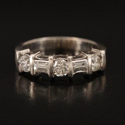 18K 0.84 CTW Diamond Ring