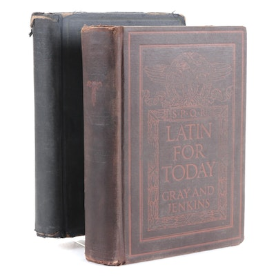 """""""Latin for Today"""" Course Books by Mason D. Gray and Thornton Jenkins, 1928"""