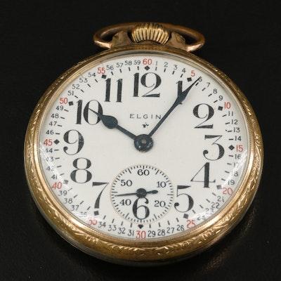 1940 Elgin Open Face Pocket Watch