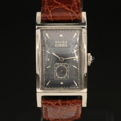 1950s Gruen Curvex Precision 10K Gold Filled Wristwatch