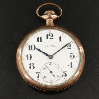 1921 Illinois Gold Filled Pocket Watch