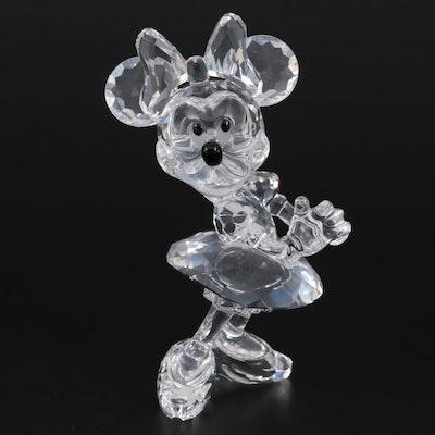 "Swarovski Crystal Disney Showcase Collection ""Minnie Mouse"" Figurine"