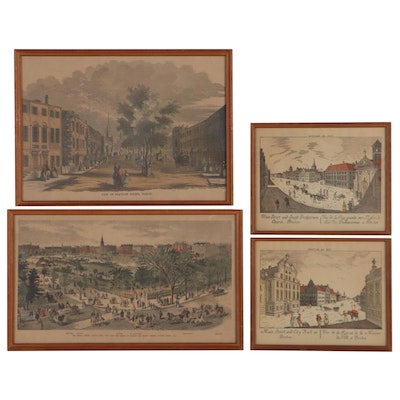 Hand-Colored Lithographs Including After Samuel Kilburn, Early 20th Century