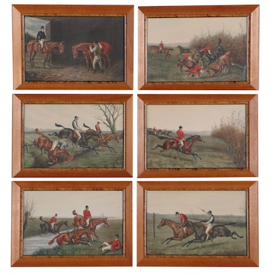 Hand-Colored Lithographs After Francis Cecil Boult, Early 20th Century