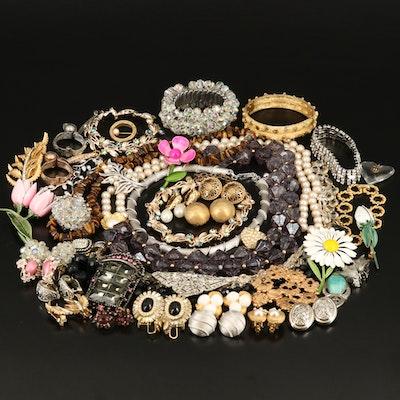 Vintage Jewelry Collection with Oscar de la Renta, Ciner and Crown Trifari