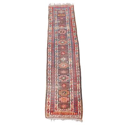 3'1 x 14' Hand-Knotted Turkish Village Carpet Runner