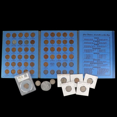 Collection of Antique to Vintage U.S. Coins