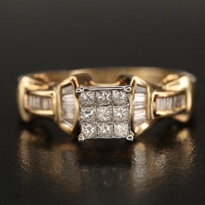 14K 0.54 CTW Diamond Ring