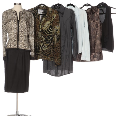Lior Shirt Dress, Ralph Lauren Brand Shirts with Other Skirt Suit and Blouse