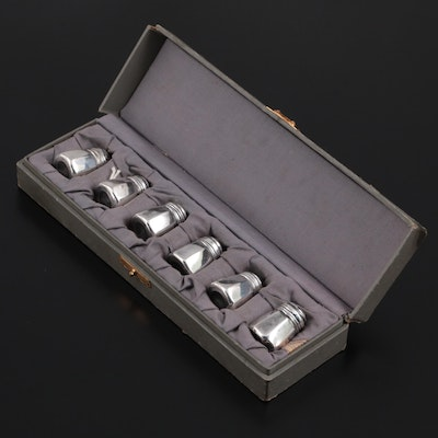 American Sterling Silver Salt and Pepper Shakers, Mid to Late 20th Century