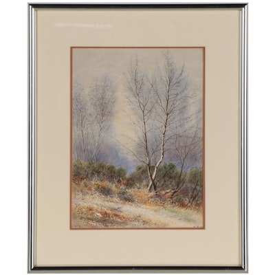 Landscape Watercolor Painting, 2002