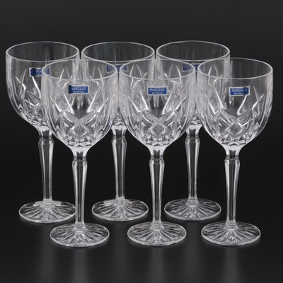 """Marquis by Waterford """"Brookside"""" Crystal Wine Glasses"""