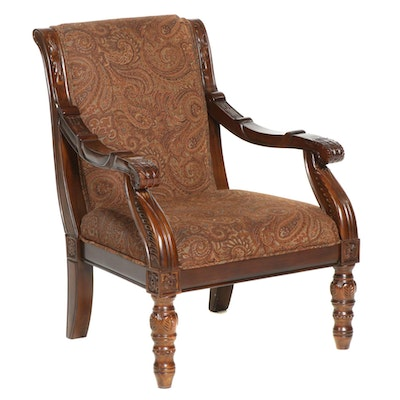 """Ashley Furniture Bradington-Truffle Collection """"Showood"""" Accent Chair"""