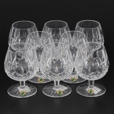 "Waterford Crystal ""Lismore"" Brandy Balloon Glasses"