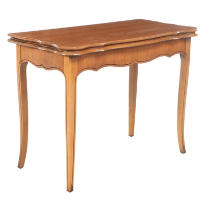 Extensole Corp. French Provincial Style Cherrywood Extending Games/Dining Table