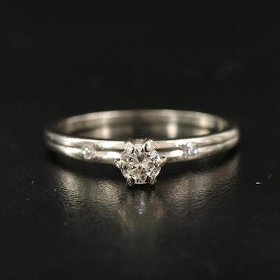 14K 0.26 CTW Diamond Ring