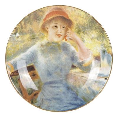 Crown Staffordshire Pierre Auguste Renoir Fine Bone China Collector's Plate
