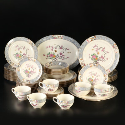 "Lenox ""Ming"" Bone China Dinnerware and Tea Service"